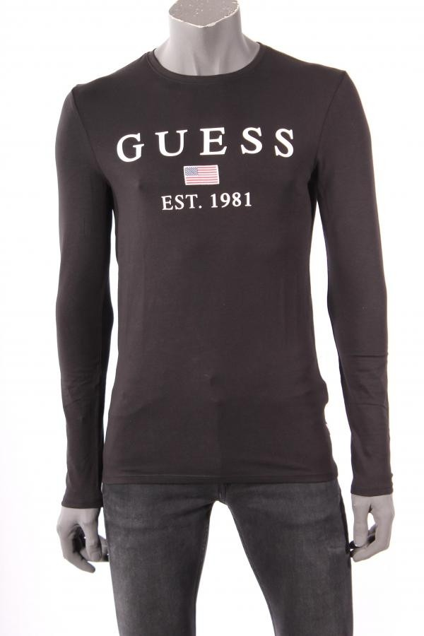 16621T_shirt_Guess_Zwart