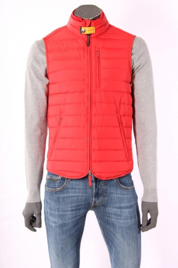 16705Bodywarmer_Parajumpers_Rood