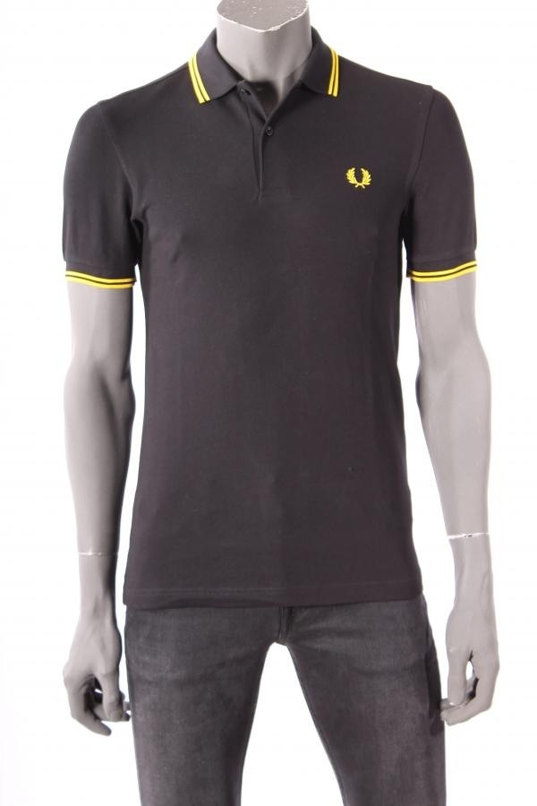 17048Polo_Fred_Perry_Zwart