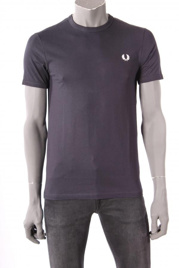 17079T_shirt_Fred_Perry_Donkerblauw