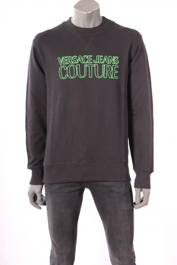 18531Sweater_Versace_Jeans_Couture_Zwart
