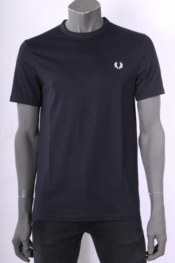 T_shirt_Fred_Perry_Donkerblauw_8