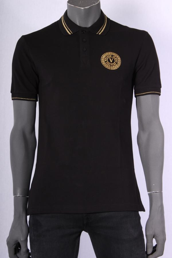 Polo_Versace_Jeans_Couture_Zwart
