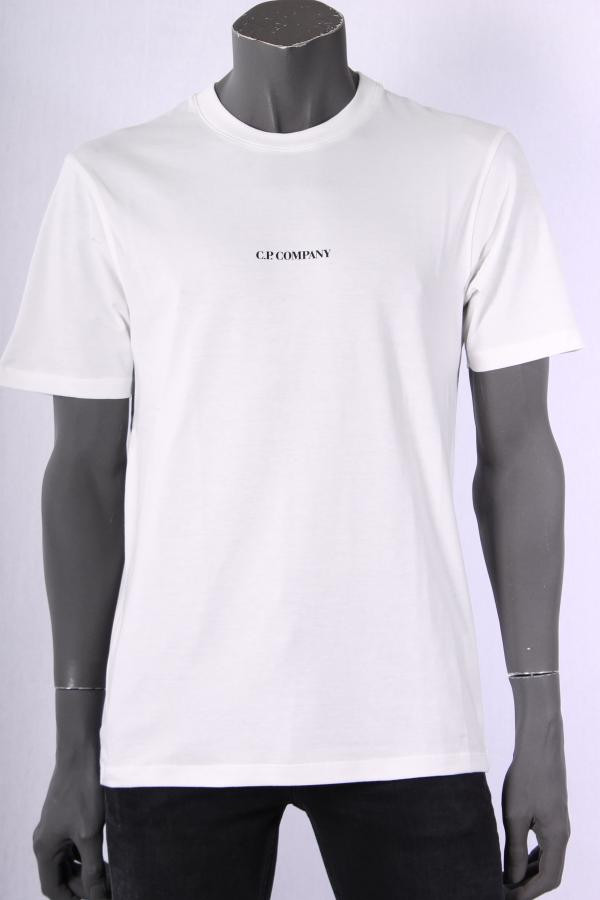 T_shirt_CP_Company_Wit