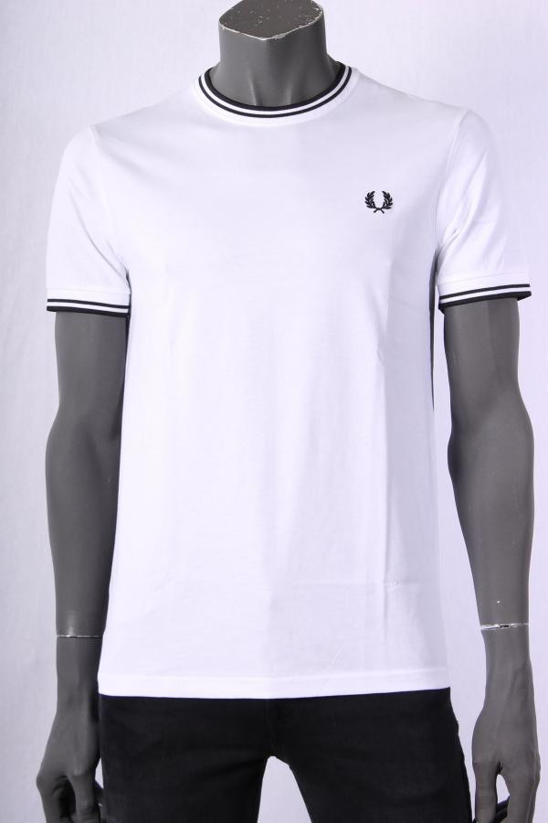T_shirt_Fred_Perry_Wit_4