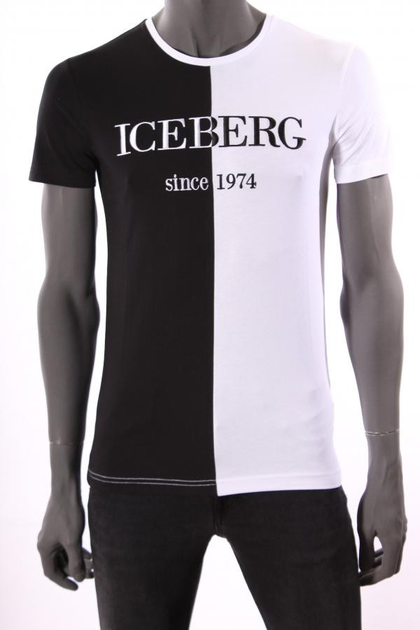Iceberg Since 1974 T Shirt Wit | EDDY'S EINDHOVEN
