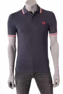 17063Polo_Fred_Perry_Donkerblauw