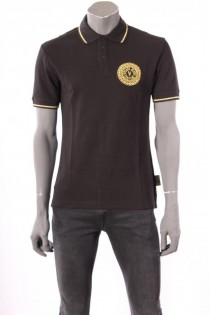18522Polo_Versace_Jeans_Couture_Zwart