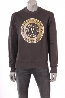 18535Sweater_Versace_Jeans_Couture_Zwart