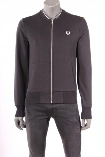 18699Vest_Fred_Perry_Zwart