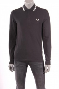 18711Polo_Fred_Perry_Zwart