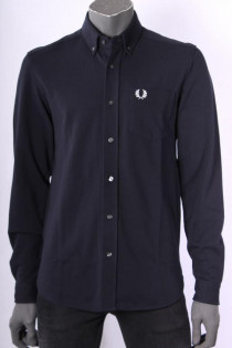 Shirt_Fred_Perry_Donkerblauw