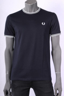 T_shirt_Fred_Perry_Donkerblauw_12
