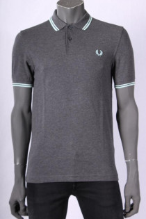 Polo_Fred_Perry_Grijs