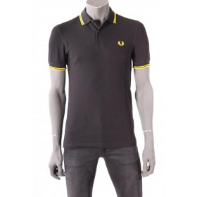 Polo Fred Perry Zwart