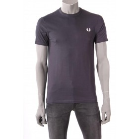 T-shirt Fred Perry Donkerblauw